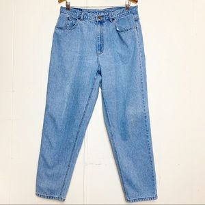 Vintage Lizwear Light Wash High Waisted Mom Jeans